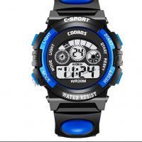 Gummi Sport Watch, mit ABS Kunststoff & Acryl, für Kinder & wasserdicht, keine, verkauft von PC