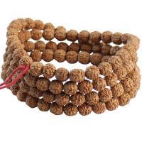 Rudraksha Armband, unisex & verschiedene Größen vorhanden, braun, verkauft von Strang