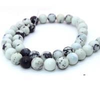 Türkis Perlen, rund, poliert, DIY & verschiedene Größen vorhanden & verschiedene Stile für Wahl, verkauft per ca. 15 ZollInch Strang