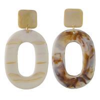 Acryl Tropfen Ohrring, für Frau, keine, 40x70mm, verkauft von Paar