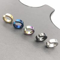 Edelstahl Kreisring, plattiert, unisex, keine, 13x4x13mm, 20PCs/Menge, verkauft von Menge