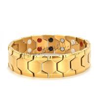 Titan Edelstahl Armband, Titanstahl, plattiert, für den Menschen, keine, 220x18x3mm, verkauft von Strang