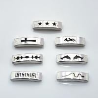 Edelstahl Armband Zubehör, unisex, keine, 10x5mm, 100PCs/Tasche, verkauft von Tasche