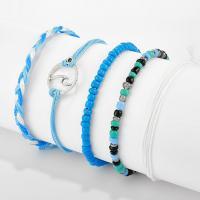 Mode Wachsschnur Armbänder, Armband, mit Seedbead, für Frau, 18cm,19cm,20cm, verkauft von setzen