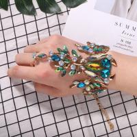 Zinklegierung Schmucksets, Armband & Halskette, plattiert, verschiedene Stile für Wahl & für Frau & mit Strass, keine, frei von Nickel, Blei & Kadmium, verkauft von Strang