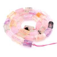 Strawberry Quartz Perle, unisex, gemischte Farben, 8*11mmuff0c390mm, 5SträngeStrang/Menge, verkauft von Menge