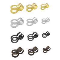 Edelstahl Ball Chain Connector, DIY & verschiedene Größen vorhanden, gemischte Farben, 44x34mm, 100PCs/Tasche, verkauft von Tasche