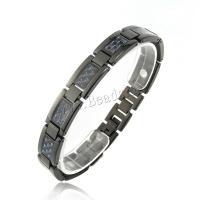Edelstahl Schmuck Armband, plattiert, für den Menschen, verkauft per 9 ZollInch Strang