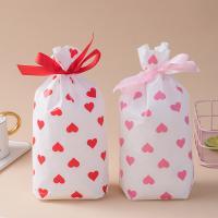 Mode Geschenkbeutel, Kunststoff, Rechteck, Kunstdruck, Streifen, keine, 150x235mm, 50PCs/Tasche, verkauft von Tasche