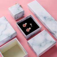 Schmuck Geschenkkarton, Kupferdruckpapier, Quadrat, gemischte Farben, 5PCs/Menge, verkauft von Menge