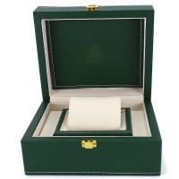Uhr Schmuckkasten, MDF, Quadrat, dunkelgrün, 200x170x95mm, verkauft von PC