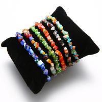 Kristall Armbänder, mit Elastomer, für Frau, mehrere Farben vorhanden, verkauft per 6.7 ZollInch Strang