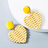 Acryl Schmuck Ohrring, Herz, keine, 55x37mm, verkauft von Paar