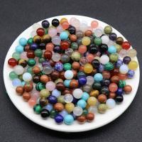 Mischedelstein Perlen, Edelstein, rund, DIY & verschiedenen Materialien für die Wahl & kein Loch, keine, 10mm, verkauft von PC