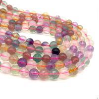 Natürlicher Quarz Perle, rund, poliert, DIY, gemischte Farben, 5x10mm, ca. 48PCs/Strang, verkauft per ca. 15.7 ZollInch Strang