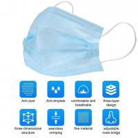Nichtgewebte Stoffe verschiedene Verpackungs Art für Wahl, blau, 175x95mm, verkauft von Menge