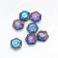 Kristall Perle, Blume, plattiert, DIY, mehrere Farben vorhanden, 15mm, 20PCs/Tasche, verkauft von Tasche
