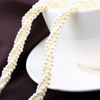 Pullover Kette Halskette, Kunststoff Perlen, für Frau & mit Strass, 50x18x25mm, verkauft per 16.14 ZollInch Strang