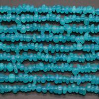Amazonit Perlen, DIY, blau, ca. 120PCs/Strang, verkauft per ca. 15 ZollInch Strang