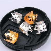 Haarschmuck DIY Ergebnisse, Eisen, Krone, plattiert, keine, frei von Nickel, Blei & Kadmium, 12x10mm, 100PCs/Tasche, verkauft von Tasche
