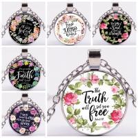 Zeit Gem Jewelry Halskette, Lampwork, mit Zinklegierung, plattiert, verschiedene Stile für Wahl & für Frau, 55x25mm, verkauft von PC