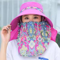 Tröpfchen & staubdichte Gesichtsschild Hut, Polyester, ultraviolette Anti, keine, 56-58cm, verkauft von PC