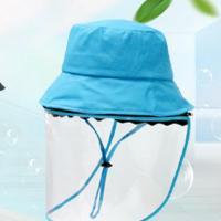 Tröpfchen & staubdichte Gesichtsschild Hut, Baumwolle, windundurchlässig & für Kinder, keine, 530x25mm, verkauft von PC
