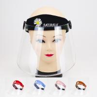 Tröpfchen & staubdichte Gesichtsschild Hut, PC Kunststoff, windundurchlässig, keine, 54-60cm, verkauft von PC