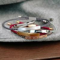 Paar Armband und Armreif, Edelstahl, unisex, keine, 230mm, verkauft von PC