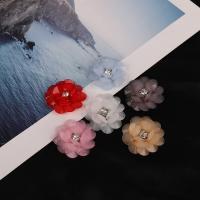 Haarstock-Befunde, Acryl, Blume, DIY, keine, 30x35mm, verkauft von PC