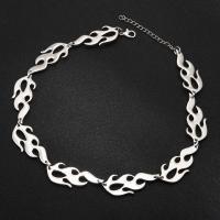 Unisex Halskette, Zinklegierung, plattiert, verschiedene Stile für Wahl, keine, frei von Nickel, Blei & Kadmium, Bohrung:ca. 2.5mm, verkauft per 15.3 ZollInch Strang