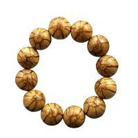 Holz Armbänder, Bauhinia Championii Benth, rund, unisex, frei von Nickel, Blei & Kadmium, 20mm, 12PCs/Strang, verkauft per ca. 9.4 ZollInch Strang