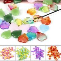Mode Glasperlen, Glas, Farbverlauf & DIY, keine, 15x13mm, 5PCs/Tasche, verkauft von Tasche