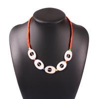 Harz Halskette, Terylen Schnur, mit Harz, für Frau, keine, 20x30mm, verkauft per 20 ZollInch Strang