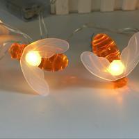 LED Globe und Sternenhimmel Lichterketten Dekorative Draht Lichter Strings Lichter, Polystyrol, mit PVC Kunststoff, weiß, verkauft von setzen