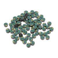 Polymer Ton Perlen , gemischte Farben, frei von Nickel, Blei & Kadmium, 10x10x6mm, 1000PCs/Tasche, verkauft von Tasche