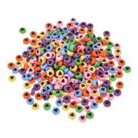 Acryl Schmuck Perlen, DIY & Emaille, gemischte Farben, 4x7mm, 100PCs/Tasche, verkauft von Tasche