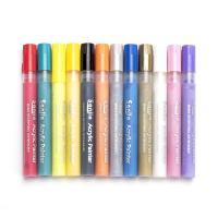 Kunststoff Wasser Farbstift, gemischte Farben, 150mm, verkauft von setzen