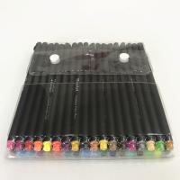 Kunststoff Wasser Farbstift, farbige Mine, gemischte Farben, 157mm, 36PCs/setzen, verkauft von setzen