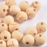 Holzperlen, Schima Superba, DIY, 14mm, 1000PCs/Tasche, verkauft von Tasche