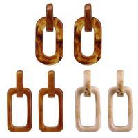 Acryl Schmuck Ohrring, Harz, für Frau, keine, 23x48mm, verkauft von Paar