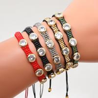 Strass Armband, Glas, handgemacht, Anti-Müdigkeit & mit Strass, keine, 2SträngeStrang/Menge, verkauft von Menge