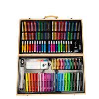 Kunststoff mit Holz, für Kinder & verschiedene Stile für Wahl, gemischte Farben, 520x300mm, verkauft von Box