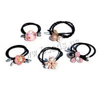 Pferdeschwanz-Halter, elastischer Faden, verschiedene Stile für Wahl & für Frau & mit Strass, keine, verkauft von PC