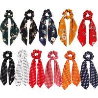 Draht Bun -Bogen, Stoff, elastisch & verschiedene Stile für Wahl & für Frau, keine, 90x240mm, verkauft von PC