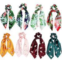 Draht Bun -Bogen, Seide, Kunstdruck, elastisch & für Frau, keine, 90x240mm, verkauft von PC