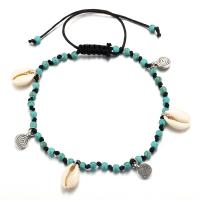 Muschel Schmuck Armband, Nylon Polypropylen, mit Muschel, für Frau, verkauft von Strang