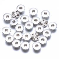 """Schaltfläche """"Chunk"""", Zinklegierung, plattiert, keine, frei von Nickel, Blei & Kadmium, 18mm, verkauft von PC"""