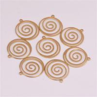 Messing Schmuck Anhänger, DIY, originale Farbe, frei von Nickel, Blei & Kadmium, 16.50x0.50mm, Bohrung:ca. 0.8mm, 500PCs/Tasche, verkauft von Tasche