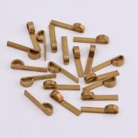 Messing Schmuck Anhänger, DIY, originale Farbe, frei von Nickel, Blei & Kadmium, 20x3x1mm, 500PCs/Tasche, verkauft von Tasche